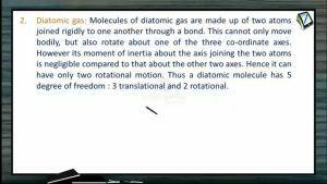 Thermodynamics - Diatomic Gas (Session 13 & 14)