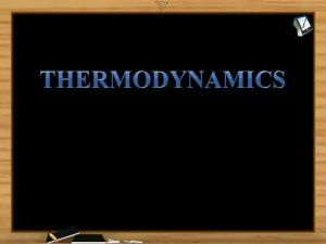 Thermodynamics - Introduction Of Expansion Types (Session 1)