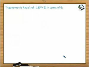 Trigonometric Ratios And Transformations - Definition Of Coterminal Angles (Session 3)