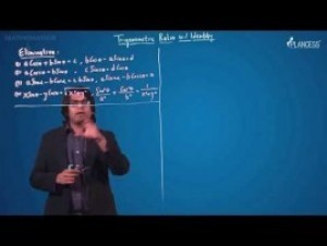 Trigonometric Ratios Identities And Equations - Elimination Of An Angle Video By Plancess