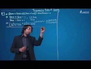 Trigonometric Ratios Identities And Equations - Illustration-IX Video By Plancess