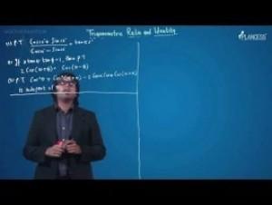 Trigonometric Ratios Identities And Equations - Illustration-X Video By Plancess