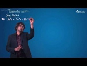 Trigonometric Ratios Identities And Equations - Substitution Method-II Video By Plancess