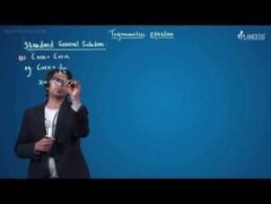 Trigonometric Ratios Identities And Equations - Trigonometric Equation-IV Video By Plancess