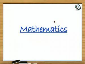 Trigonometry - Examples 1 (Session 4)