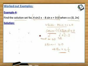 Trigonometry - Examples 2 (Session 4)