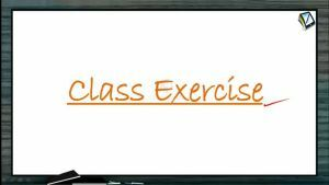 Vectors - Class Exercise 1 (Session 4 & 5)