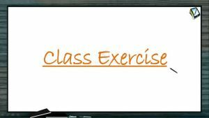 Vectors - Class Exercise 1 (Session 6 & 7)