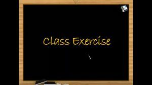 Vectors - Class Exercise (Session 5 & 6)
