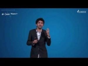 Vectors - Cross Product - Vectors Video By Plancess