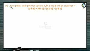 Vectors - Four Points With Position Vectors (Session 8 & 9)