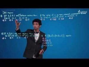 Vectors - Problems - JEE MAINS Video By Plancess