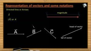 Vectors - Vector Definition And Types Of Vectors (Session 1 & 2)