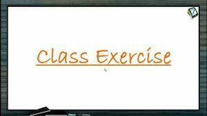 Wave Optics - Class Exercise (Session 1)