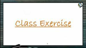 Wave Optics - Class Exercise (Session 4 & 5)