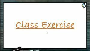 Wave Optics - Class Exercise (Session 6 & 7)