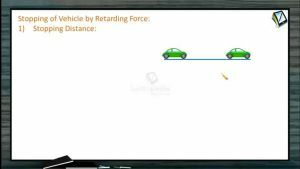 Work, Power And Energy - Stopping Of Vehicle By Retarding Force (Session 5)