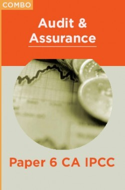 Combo : Audit And Assurance - Paper 6 CA IPCC by Pluto Innovations