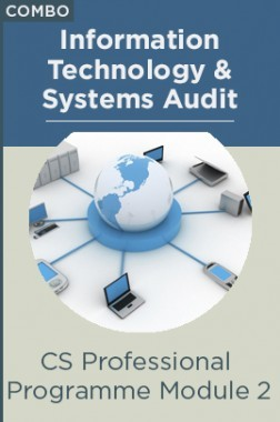 Combo : CS Professional Programme - Module II - Information Technology And Systems Audit by Pluto Innovations