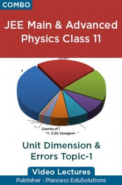 JEE & NEET Physics Class 11 - Unit Dimension & Errors Topic-1 Video Lectures By Plancess EduSolutions