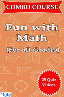Combo : Fun With Math For Class ( VIII, IX & X ) by Let's Tute