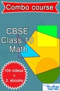 Combo : Math For Class X CBSE By Let's Tute