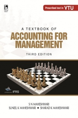 A TEXTBOOK OF ACCOUNTING FOR MANAGEMENT - 3RD EDN