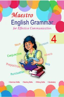 Maestro English Grammar For Effective Communication Class 4