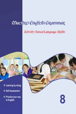 Maestro English Grammar Activity Based Language Skills Class 8