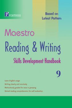 Maestro Reading & Writing Skills Development Handbook For Class 9