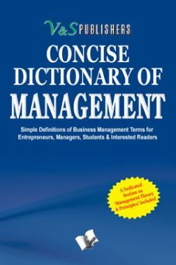 Concise Dictionary Of Management