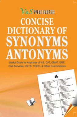 Concise Dictionary Of Synonyms Antonyms