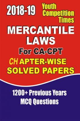 CA-CPT Mercantile Laws Solved Papers For 2018-19