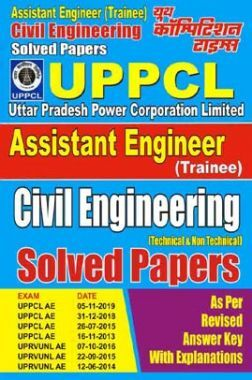 UPPCL AE Civil Engineering Solved Papers